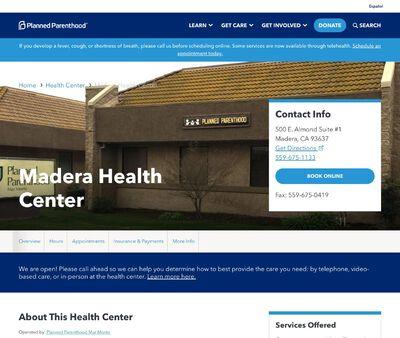 STD Testing at Planned Parenthood - Madera Health Center