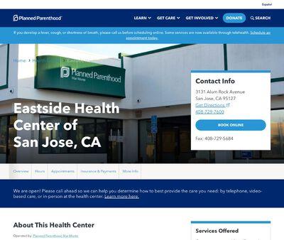 STD Testing at Planned Parenthood- East Side Health Center of San Jose