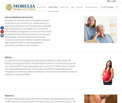 STD Testing at Morelia Medical Clinic