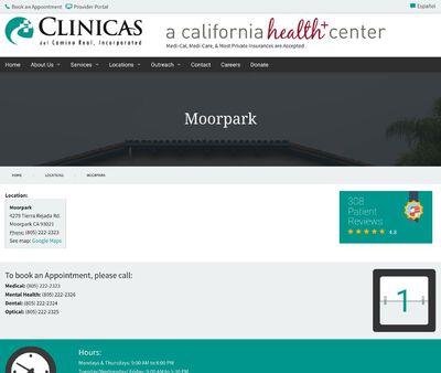 STD Testing at Clinicas del Camino Real, Inc. - Moorpark Clinic Health Center