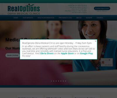STD Testing at RealOptions Obria Medical Clinics of Central San Jose