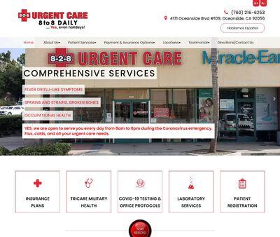 STD Testing at 8-2-8 Urgent Care