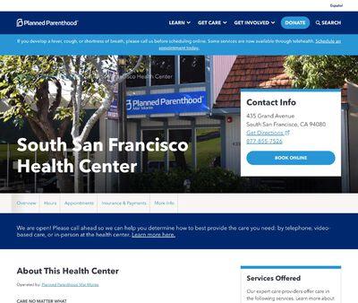 STD Testing at South San Francisco Health Center