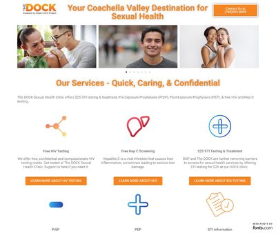 STD Testing at The Dock Clinic