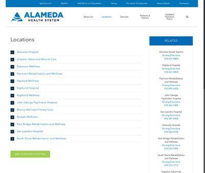STD Testing at Alameda County Health System-Highland Hospital