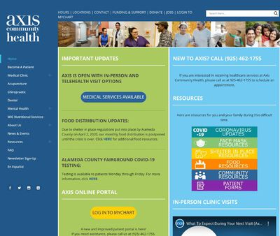 STD Testing at Axis Community Health