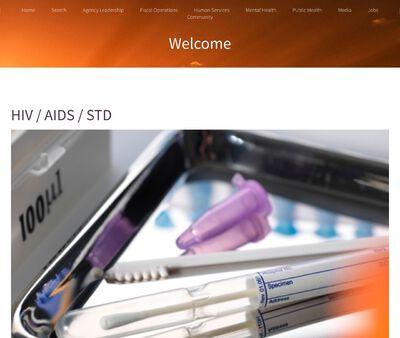 STD Testing at HIV Care Program