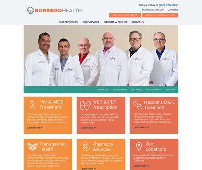 STD Testing at Desert Hot Springs Borrego Health Specialty Care Center