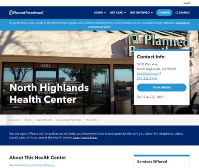 STD Testing at North Highlands North Center