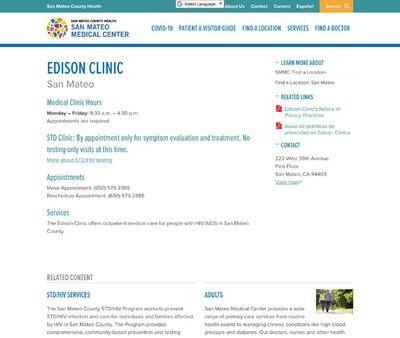 STD Testing at Edison STD Clinic