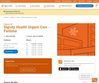 STD Testing at Dignity Health Urgent Care - Fontana