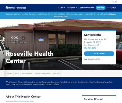 STD Testing at Planned Parenthood - Roseville Health Center