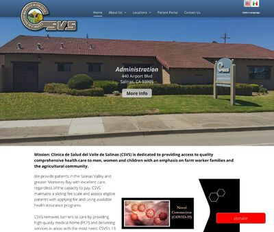 STD Testing at Clinica de Salud del Valle de Salinas (Main Clinic)