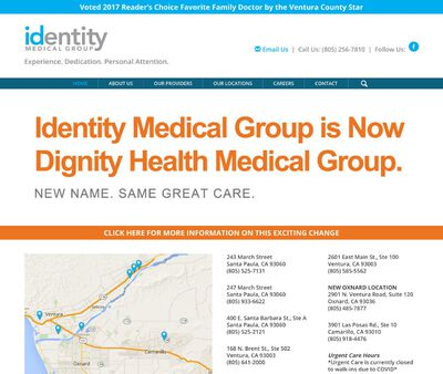 STD Testing at Dignity Health Medical Group (Formally Identity Medical Group)