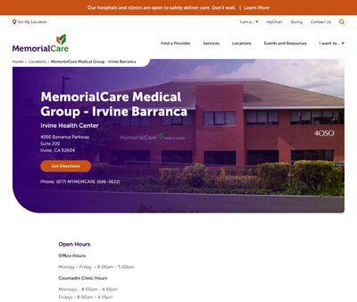 STD Testing at Memorial Care Medical Group