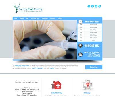 STD Testing at Cutting Edge Testing