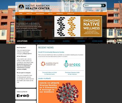 STD Testing at Native American Health Center Incorporated (Behavioral Health Services)