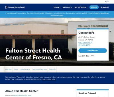 STD Testing at Fulton Street Health Center of Fresno, CA