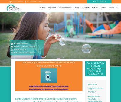 STD Testing at Santa Barbara Neighborhood Clinics (Eastside Neighborhood Clinic)