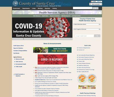 STD Testing at Santa Cruz County Health Services Agency, Santa Cruz Health Center