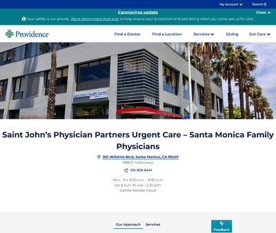 STD Testing at Urgent Care Wilshire - Santa Monica Family Physicians