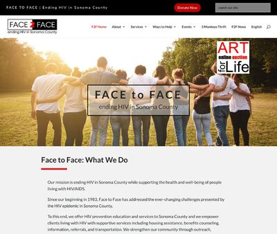 STD Testing at Face To Face-Sonoma Aids