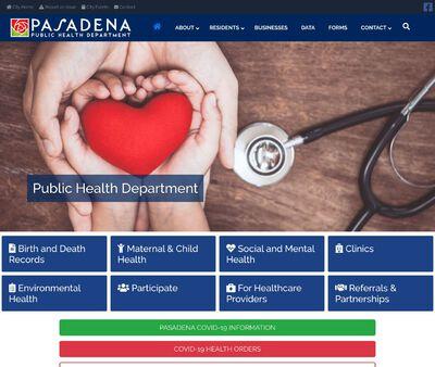 STD Testing at Pasadena Public Health Department