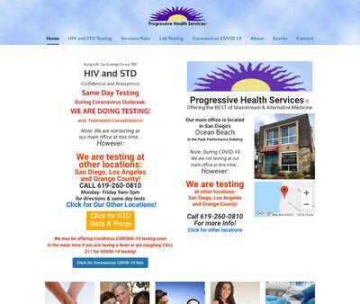 STD Testing at Progressive Health Services