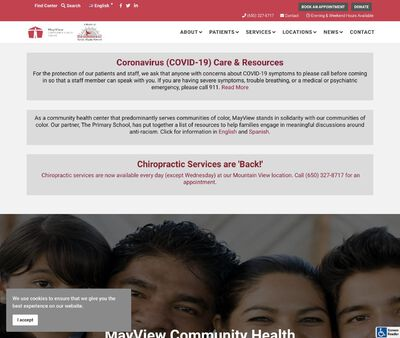STD Testing at MayView Community Health Center (Sunnyvale Clinic)