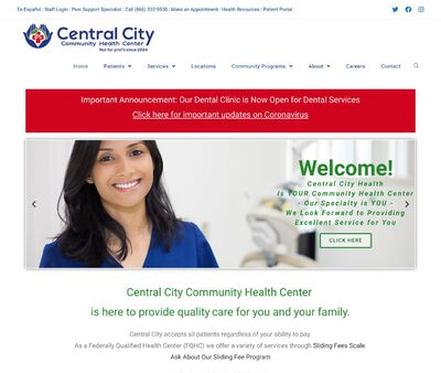 STD Testing at Central City Community Health Center