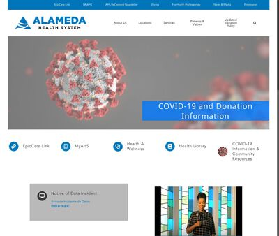 STD Testing at Alameda Health System