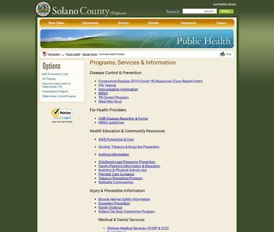 STD Testing at Solano County Health & Social Services Department
