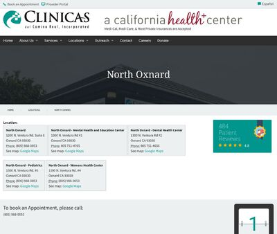 STD Testing at Clinicas del Camino Real Incorporated (North Oxnard Health Center)