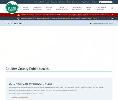 STD Testing at Boulder County Public Health