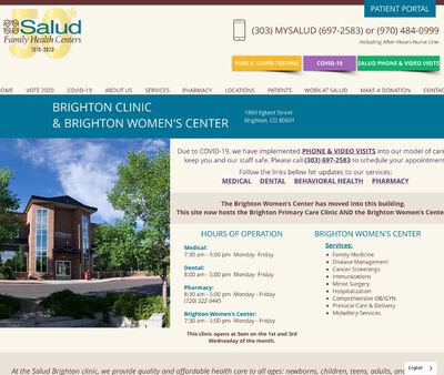 STD Testing at Salud Family Health Centers - Brighton Clinic