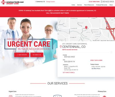STD Testing at AFC Urgent Care Centennial