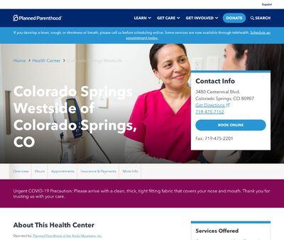 STD Testing at Colorado Springs Westside of Colorado Springs, CO