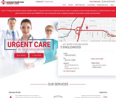 STD Testing at AFC Urgent Care Englewood