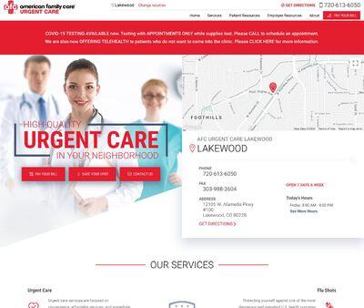STD Testing at AFC Urgent Care - Lakewood