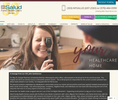 STD Testing at Salud Family Health Centers (Longmont Clinic)