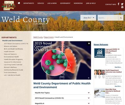 STD Testing at Weld County Department of Public Health and Environment (Southwest Weld County)