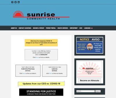 STD Testing at Sunrise Community Health (Loveland Community Health Center)