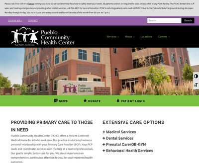 STD Testing at Pueblo Community Health Center (Park Hill Clinic and Pharmacy)