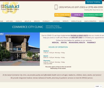 STD Testing at Salud Family Health Centers (Commerce City Clinic)