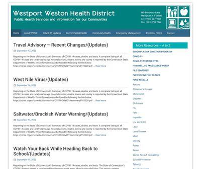 STD Testing at Westport Weston Health District