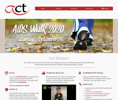 STD Testing at Connecticut AIDS Resource Coalition