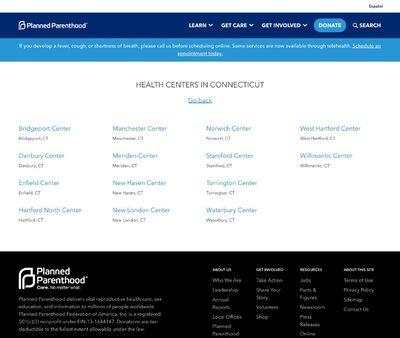 STD Testing at Planned Parenthood:West Hartford Center of West Hartford, CT