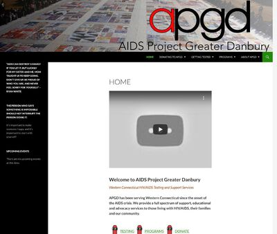 STD Testing at Aids Project Greater Danbury