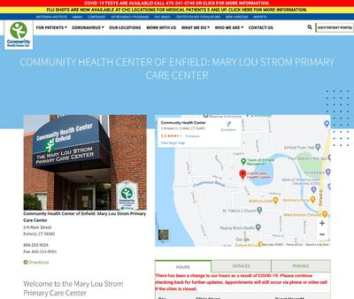 STD Testing at Mary Lou Strom Primary Care Center of CHC, Inc