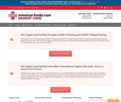 STD Testing at AFC urgent Care Fairfield